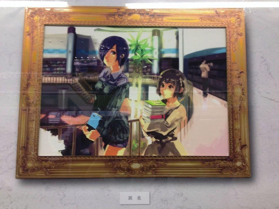 鶯谷 東京喰種 原画展示