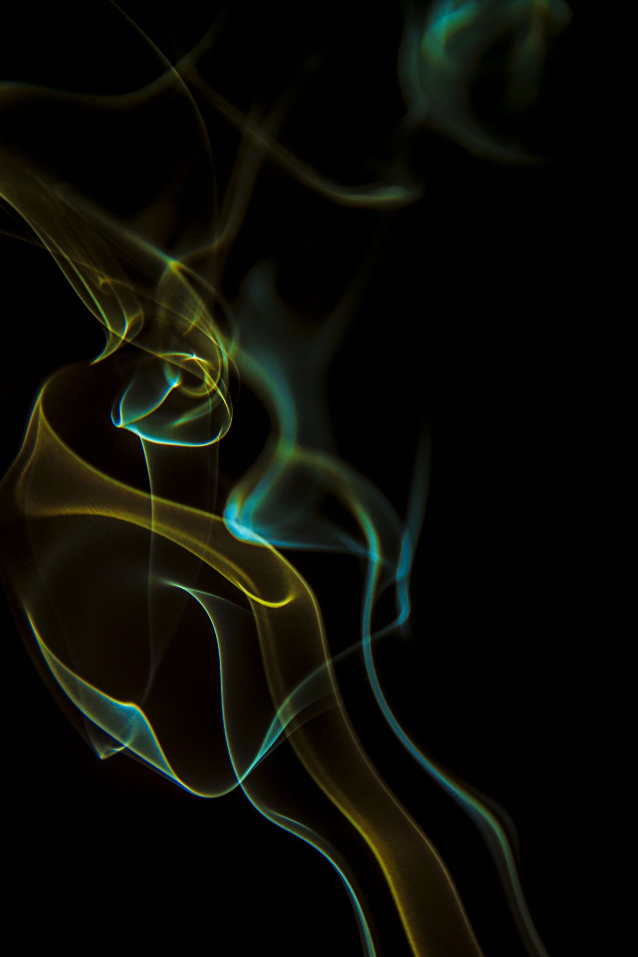 Smoke Neon EyeEm Smoke Time Smoker Smoked Smoke Tricks Colored Smoke Isolated Smoke Shapes Black Background Isolated Textured  Textures Green Color Green Yellow Smoke Green Smoke Blue Smoke