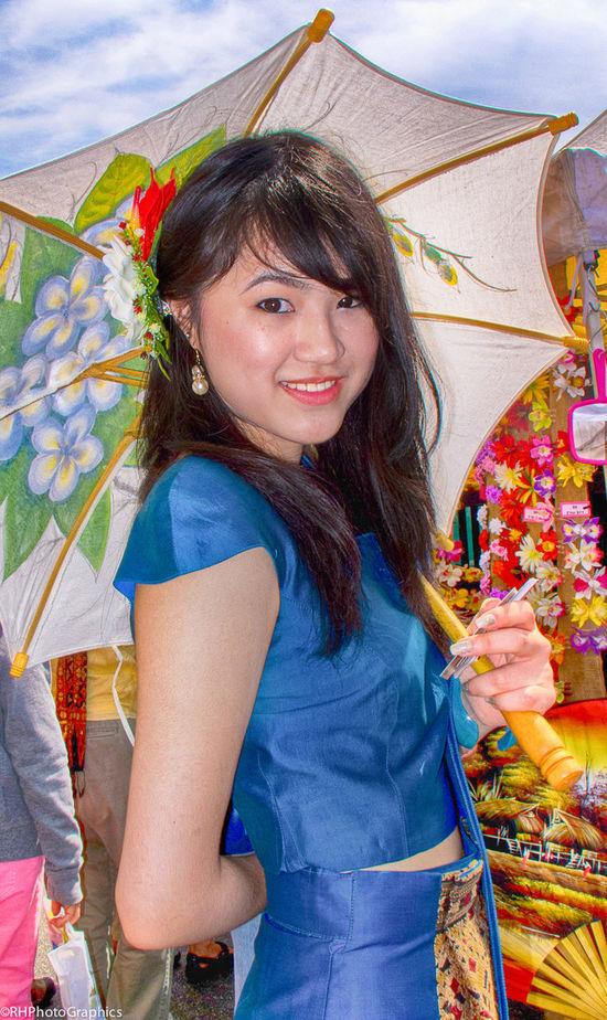 THAI BEAUTY Beauty Hollywood Blvd Los Angeles, California Portrait Portrait Of A Woman Thai Thai Festival Thaitown