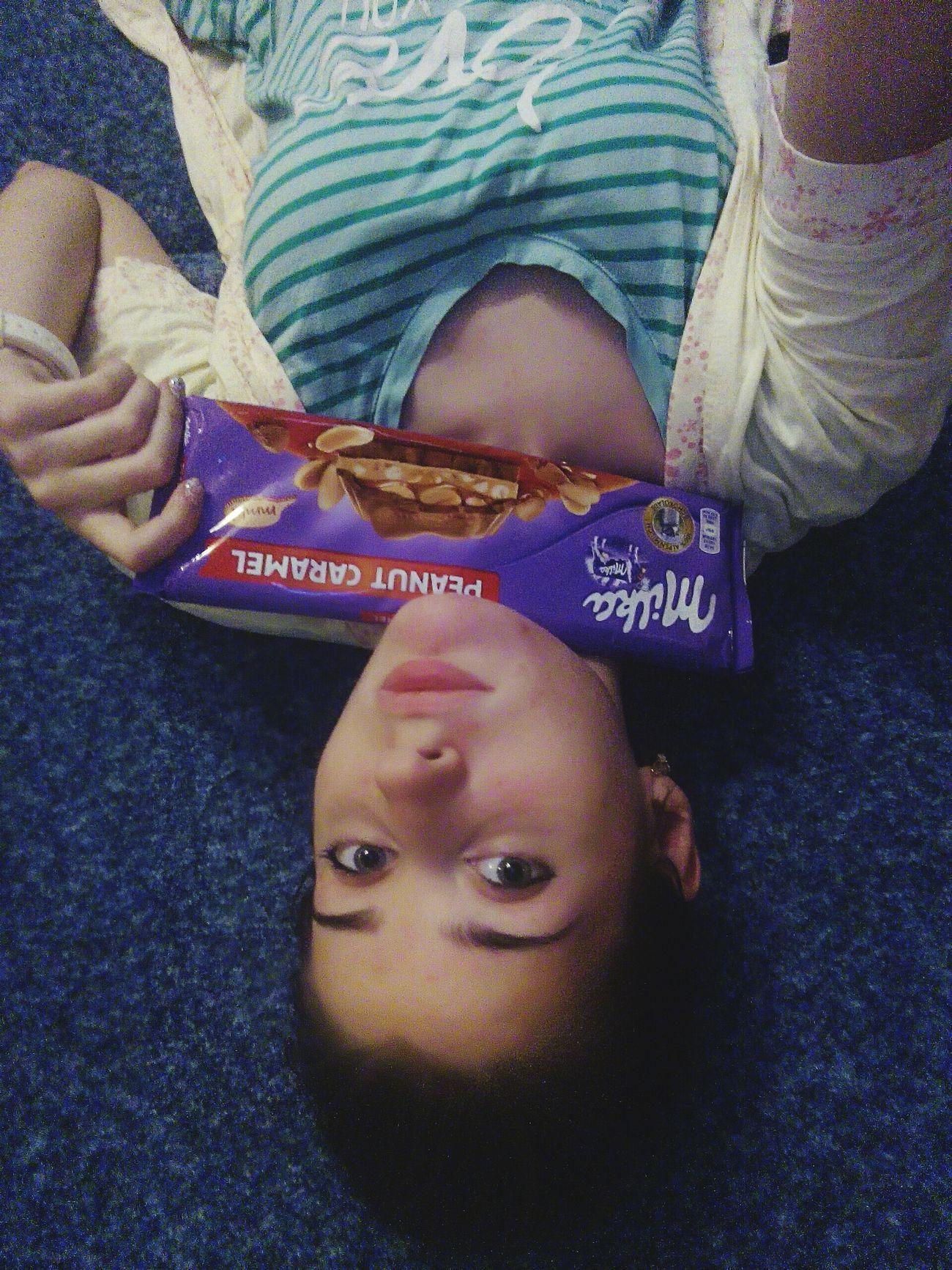 Hi! Gerl шоколадка Milka..❤