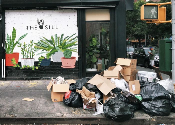 Day Downtown Heap Homelessness  Large Group Of Objects LES Lower Manhattan Lowereastside Messy Outdoors Person Sack Social Issues The Sillyness ALWAYS Wins Out!