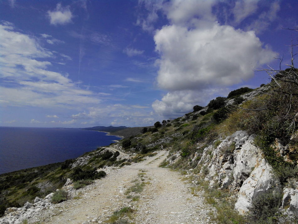 The View From Above Car View Dugi Otok Dugiotok Seaside Sea Sea And Sky Seascape Chill Summer Tranquil Scene Tranquility Seascape Photography