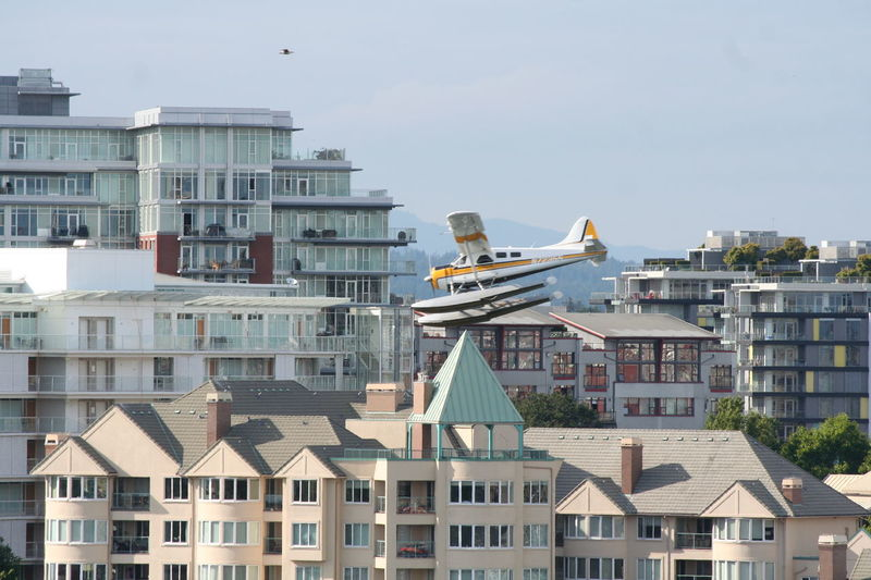 City Cityscape Flying Landing Plane Outdoors Sea Plane Sea Plane Flight Sky Victoria Harbour