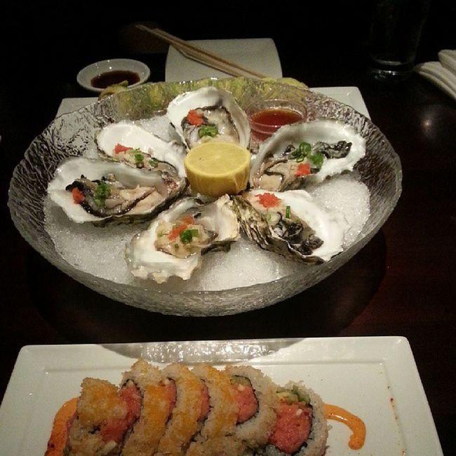 Beautiful Sushi Gottasnapashot Oysters aphrodisiac lmao