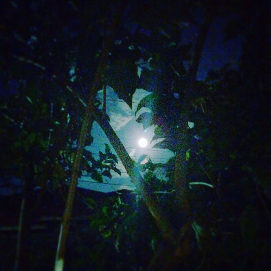 In every darkest nights the moon will always be full and bright. 🌚 Fullmoon Frightnight Holyweek