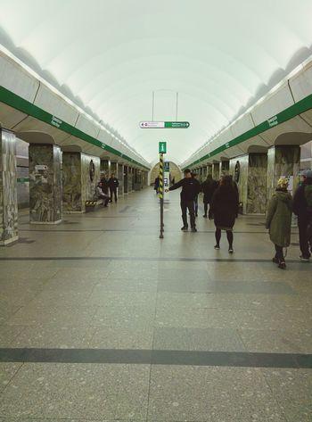 Subway in st.Petersburg Subway Underground Petersburg Stpetersburg Russia