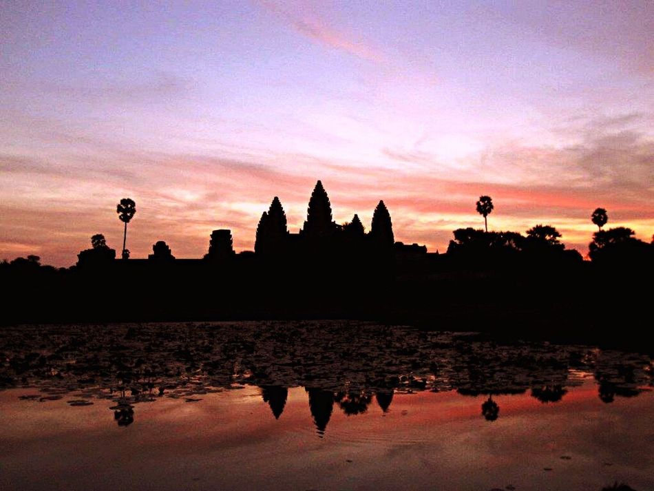 Angkor Wat, Cambodia at sunrise 🌄 Hello World Cambodia Angkor Wat Temple Traveling EyeEm Best Shots - Landscape EyeEm Best Shots EyeEm Nature Lover EyeEm Best Shots - Sunsets + Sunrise Morning ASIA Seeing The Sights Silhouette Sunrise Sunrise_Collection Sunrise Silhouette Sunrise_sunsets_aroundworld Sunriseporn Sunrise Colors Sunrise And Sunsets World Heritage World Heritage Site World Helitage Tourism Tourists