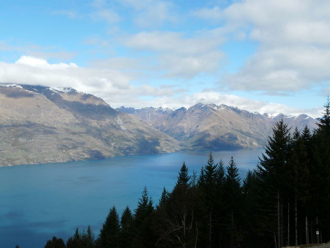 Overlooking Lake Wakatipu and The Remarkables- Queenstown NZ Beauty In Nature Blue Clear Cloud Cloud - Sky Day Idyllic Lake Wakatipu Landscape Leisure Activity Mountain Mountain Range Nature New Zealand Beauty New Zealand Landscape New Zealand Scenery Outdoors Queenstown Nz Scenics Sky The Great Outdoors - 2016 EyeEm Awards The Remarkables Tranquil Scene Tranquility