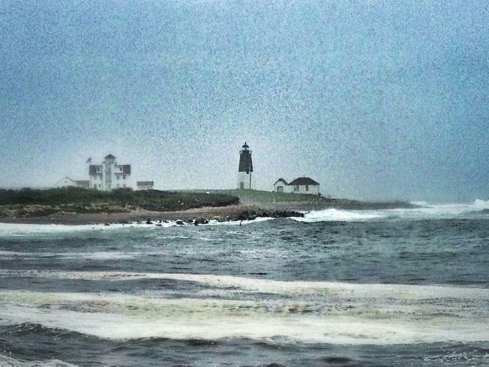 Lighthouse At The Beach Water_collection How Near... How Far
