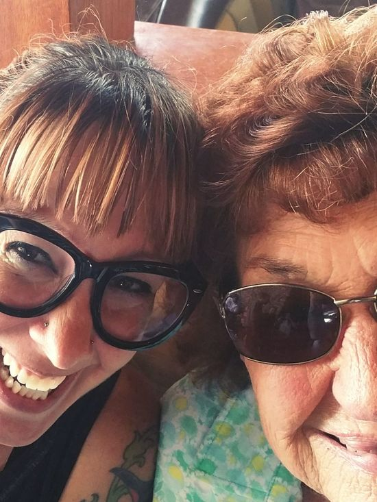 Girlfriend Grandma Love  Lunch Time Bonding Looking At Camera Close-up Young Women Friendship Leisure Activity Togetherness Lifestyles Headshot Front View Smiling Sunglasses Faces Photography Photooftheday Eye4photography  Awaken Dezember Style Spiritual