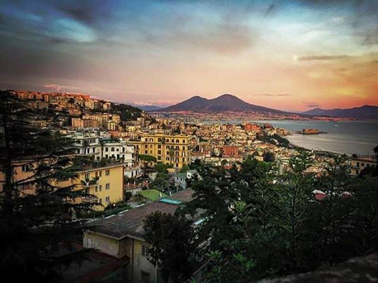 Napoli Incredibile Bestphoto Colours Sky Vesuvio Unbelieveble Show