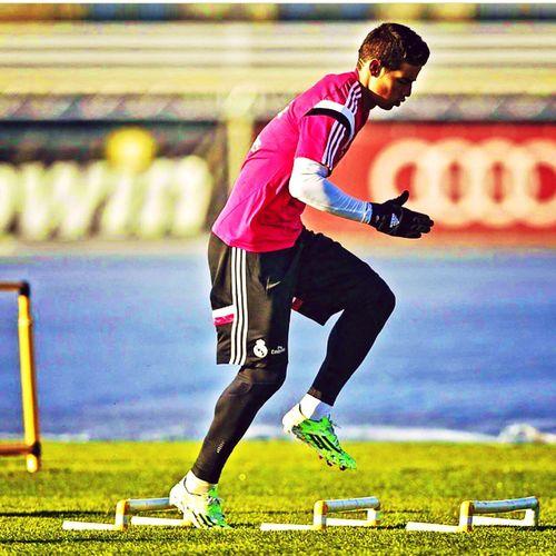 Rodriguez In Training. Jamesrodriguez
