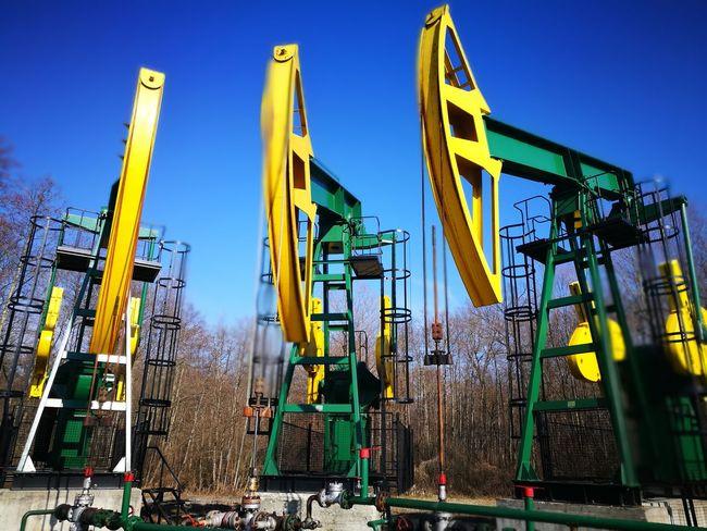 Outdoors No People Industry Day Croatia Oilfield Oil Industry Oil Pump Oil