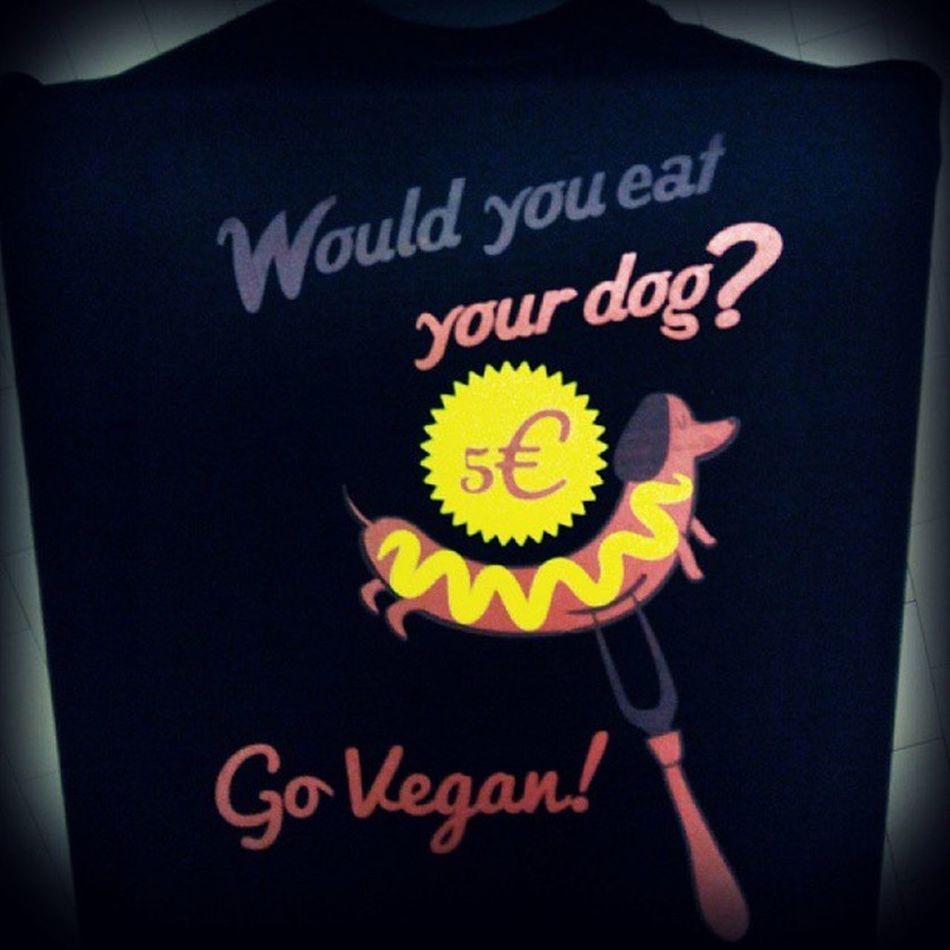 """Would you eat your dog?"" #tshirt #vegantshirts #dog #vegfestuk #vegan #crueltyfree #antispeciesism Dog Vegan Tshirt Crueltyfree Vegantshirts Antispeciesism Vegfestuk"