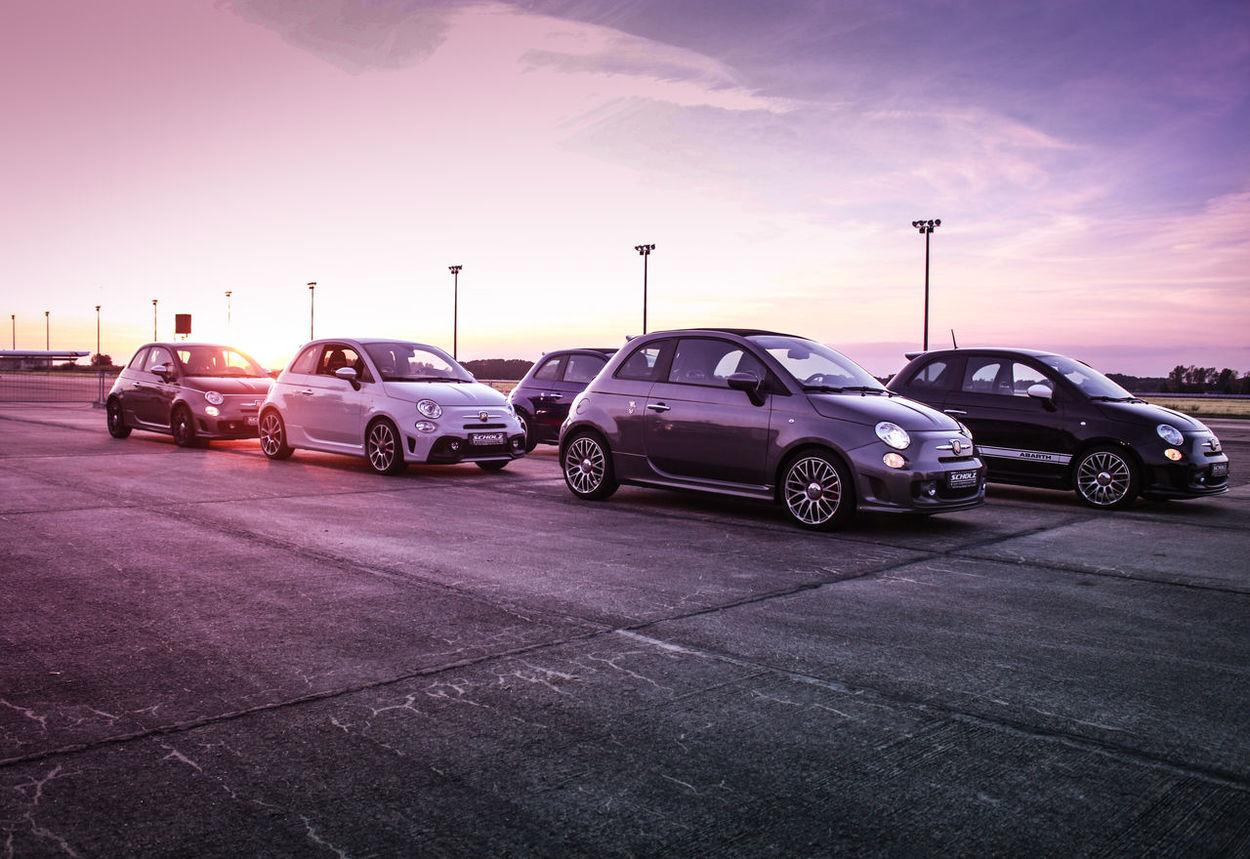 #abarth #adrenaline #Airport #fiat #fiat500 #motorsport #performance #race #racecar #raceday #Tuning Car Cloud - Sky Fiat595 No People Sky Sunset EyeEmNewHere