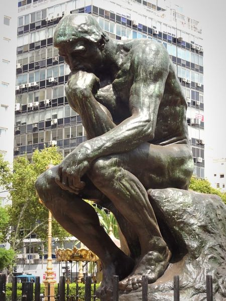 Q Question of life Auguste Rodin Esculture Great Artists