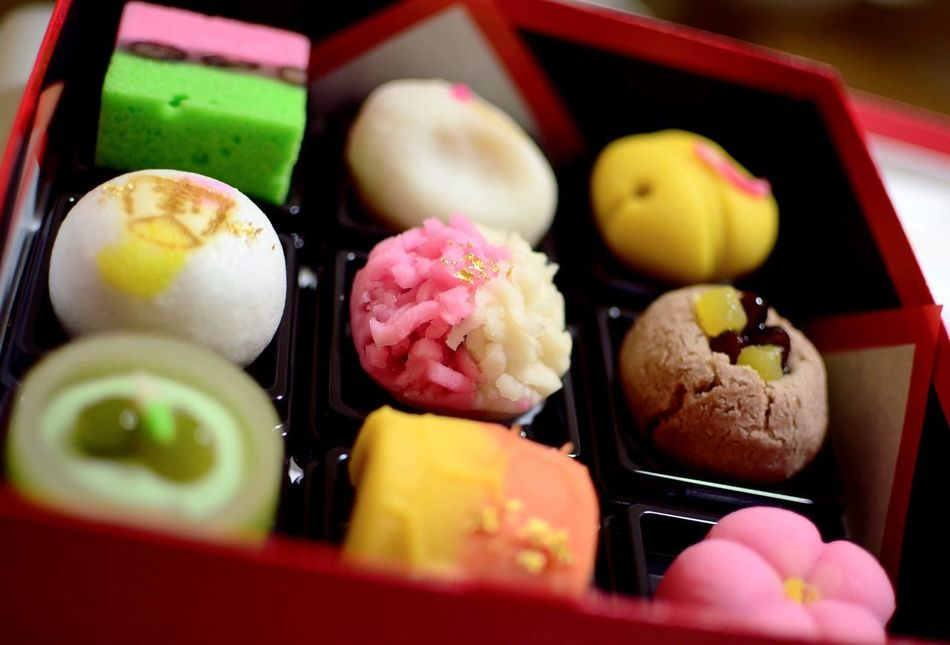 Sweet Food Japanese Sweets Japanese Wagashi Sweets Wagashi Colorful Colorful Photo Multi Colored Multicolors  Traditional Traditional Culture Japanese  New Year 2017 Happy New Year 2017 和菓子 彩り 和み 祝い菓子 縁起物 Food Photography EyeEm Food Photography Close-up Food