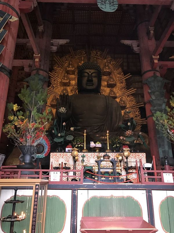 Japan 奈良 東大寺 大仏 Nara Toudaiji