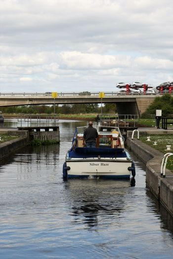 Aire Architecture Boat Bridge Calder Canal Car Transportation Cloud - Sky Day Lock Lock Gates Nature Nautical Vessel Navigation Outdoors People Pleasure Launch Real People River Road Sky Transportation Water Waterfront Yorkshire