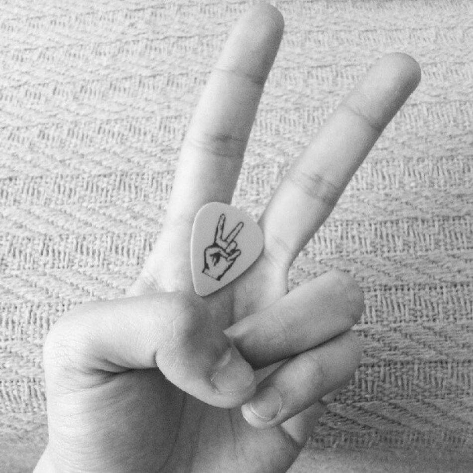 Peace! Coolplectrum Coolhandsign