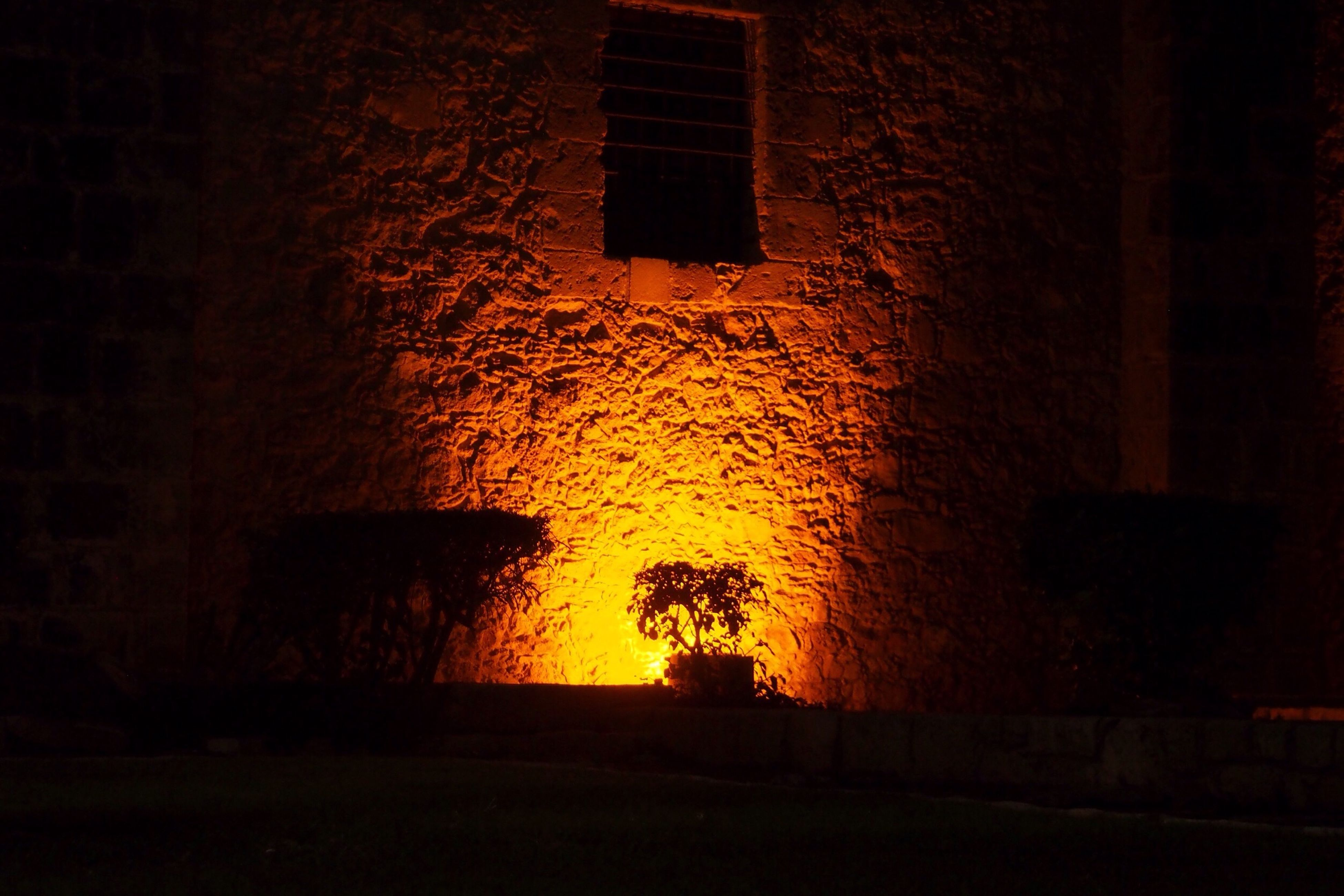architecture, night, built structure, building exterior, no people, indoors, illuminated, prison