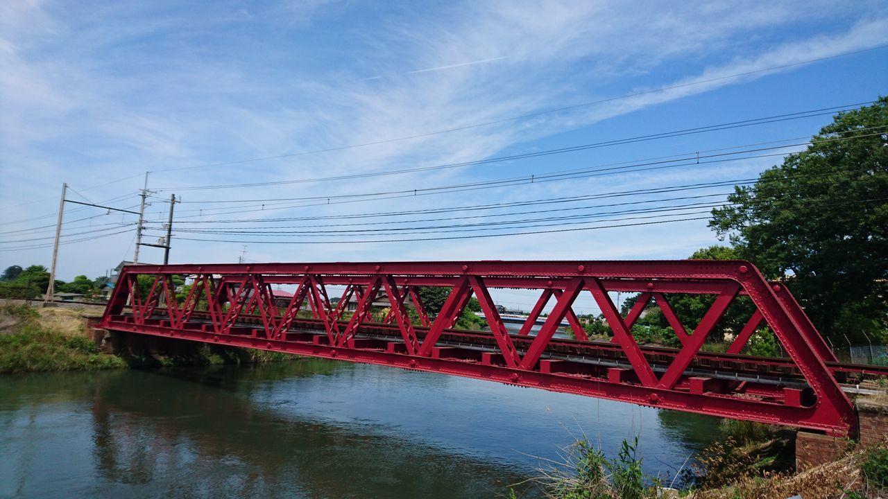 赤い橋 秩父鉄道