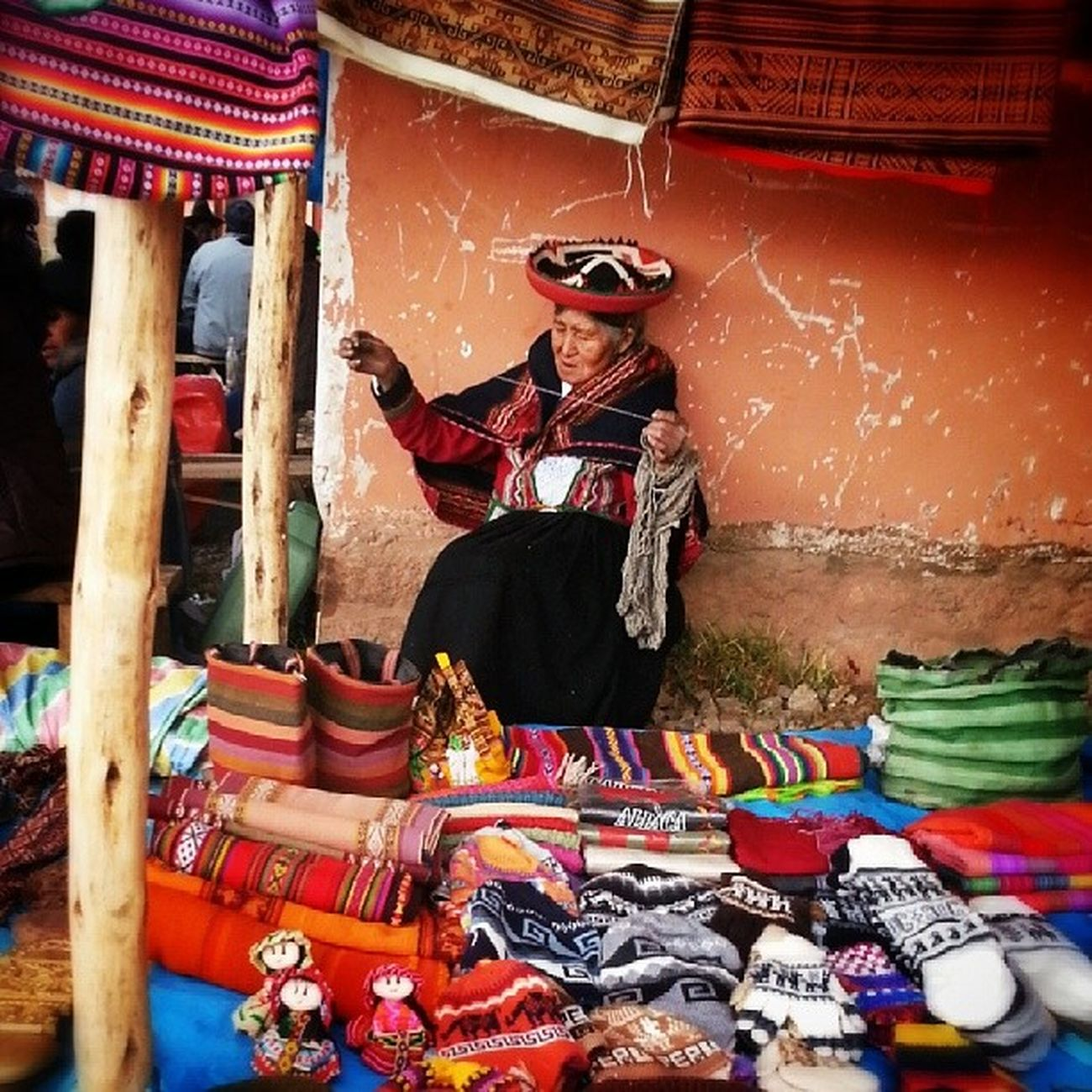 Sunday is Market day in Chinchero