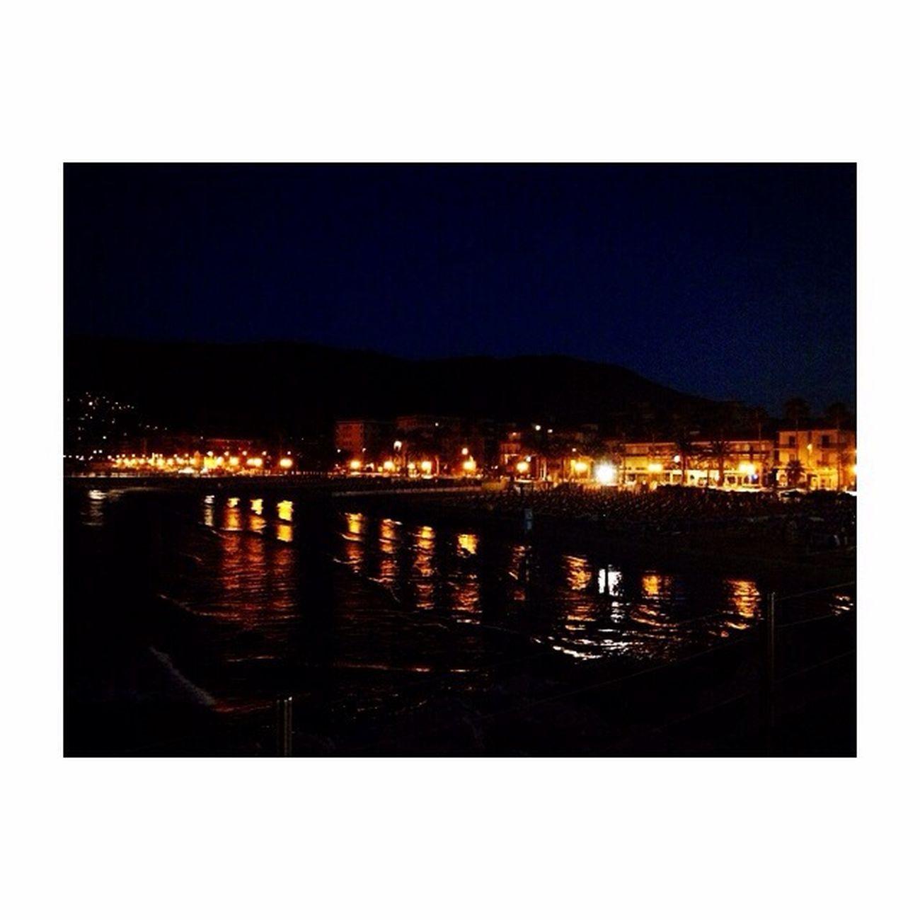 Alassio by night