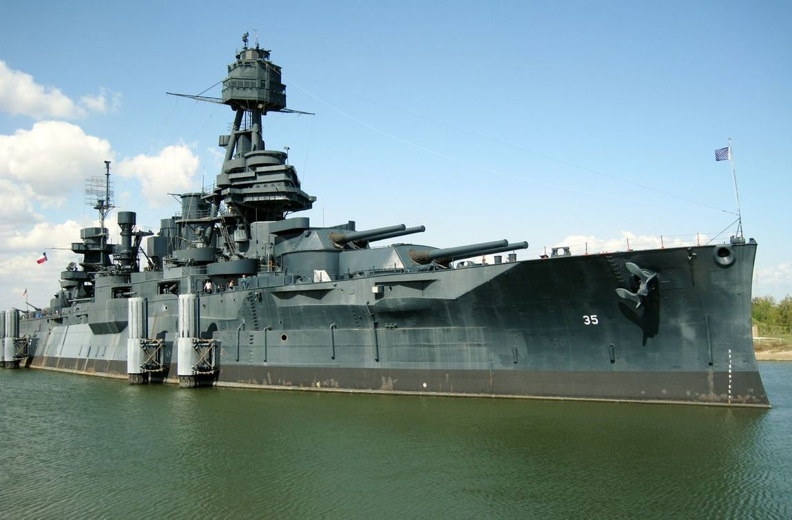Battleship Texas Battleship BB 35 Dreadnaught Dreadnought Grey Sky Guns N' Roses San Jacinto Texas