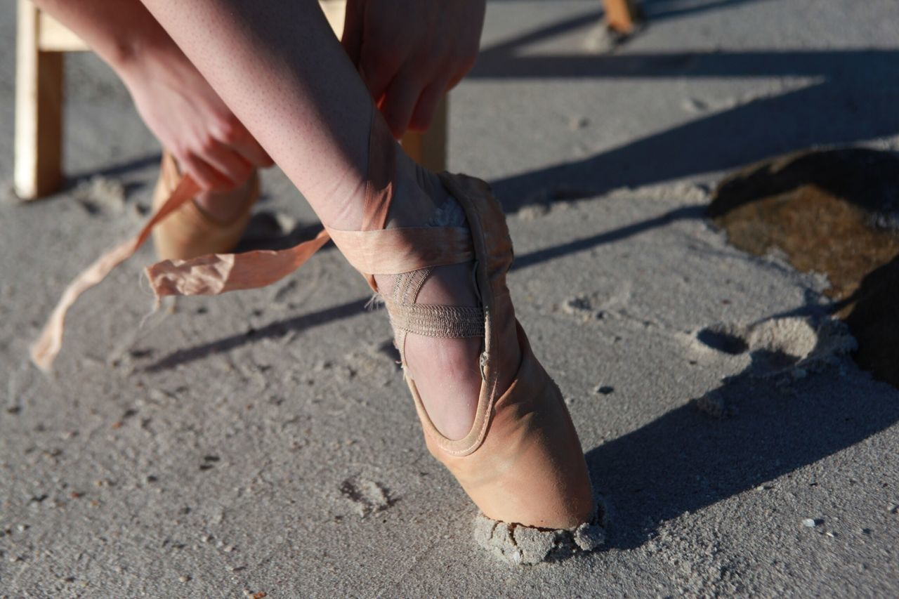 Beautiful stock photos of ballet, Ballet Shoe, Chair, Close-Up, Day