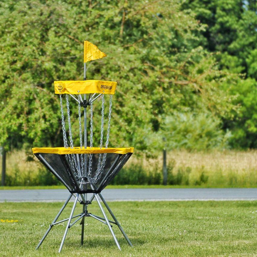 Disc Golf Discgolf Discgolfbasket Practicing Ace Par June Showcase