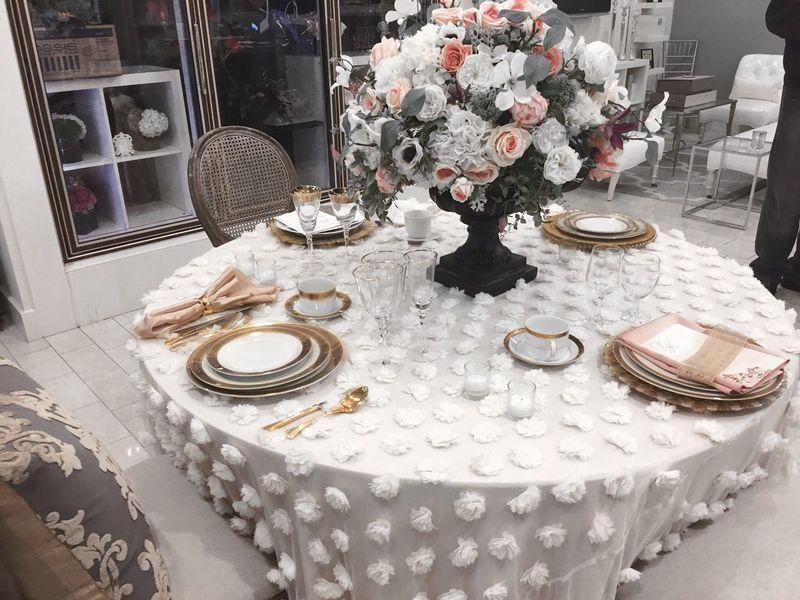 Flower Candle Wedding Wedding Reception Table Silverware  Glass