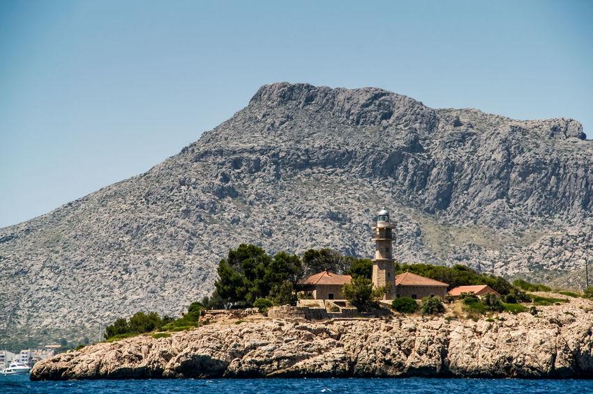 Azul Blau Blue Felsen Grün Insel Island Küste Leuchtturm Lighthouse Mallorca Mallorca_Rural Mare Mittelmeer Segeln SPAIN Spanien Swimming