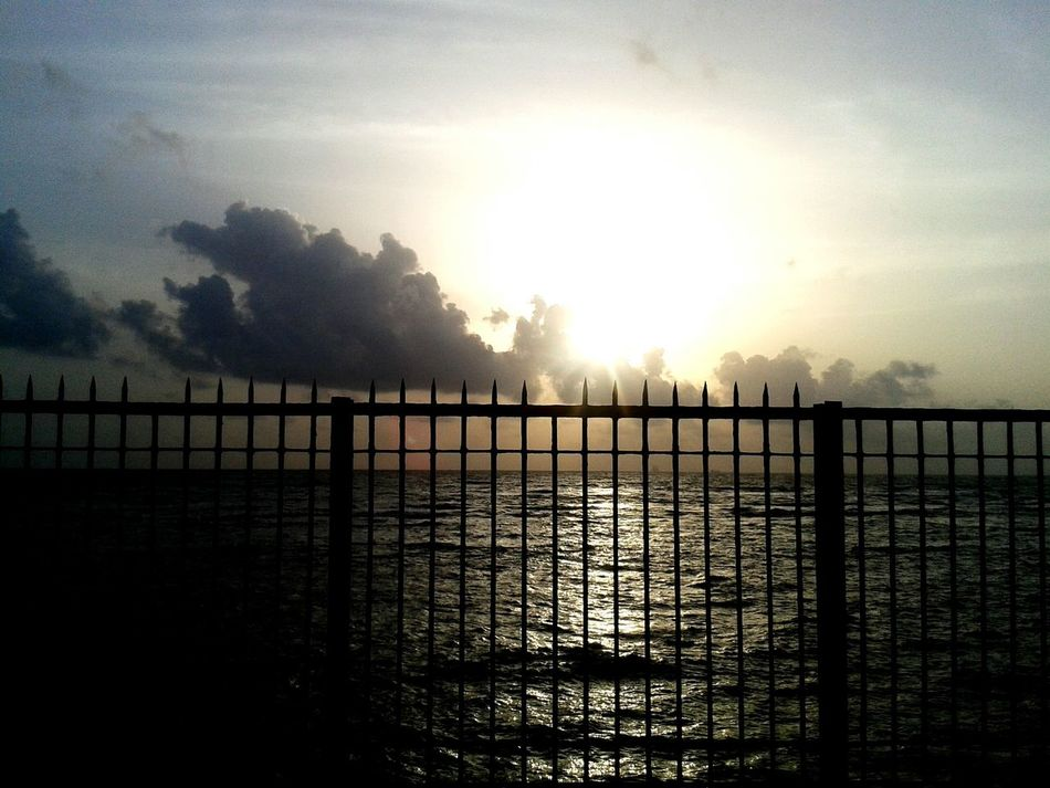 Just a barrier ... Sea