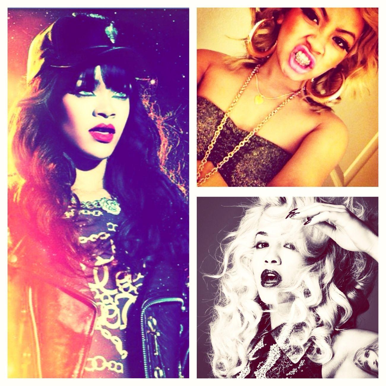 My Babies ; Rhianna , Honey C ; Rita O .