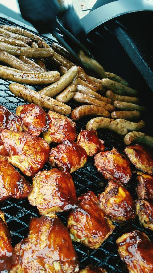 Smokedbrats Smokedchicken Klose Klosesmoker Weddingcaterers Smokedmeats Foodporn