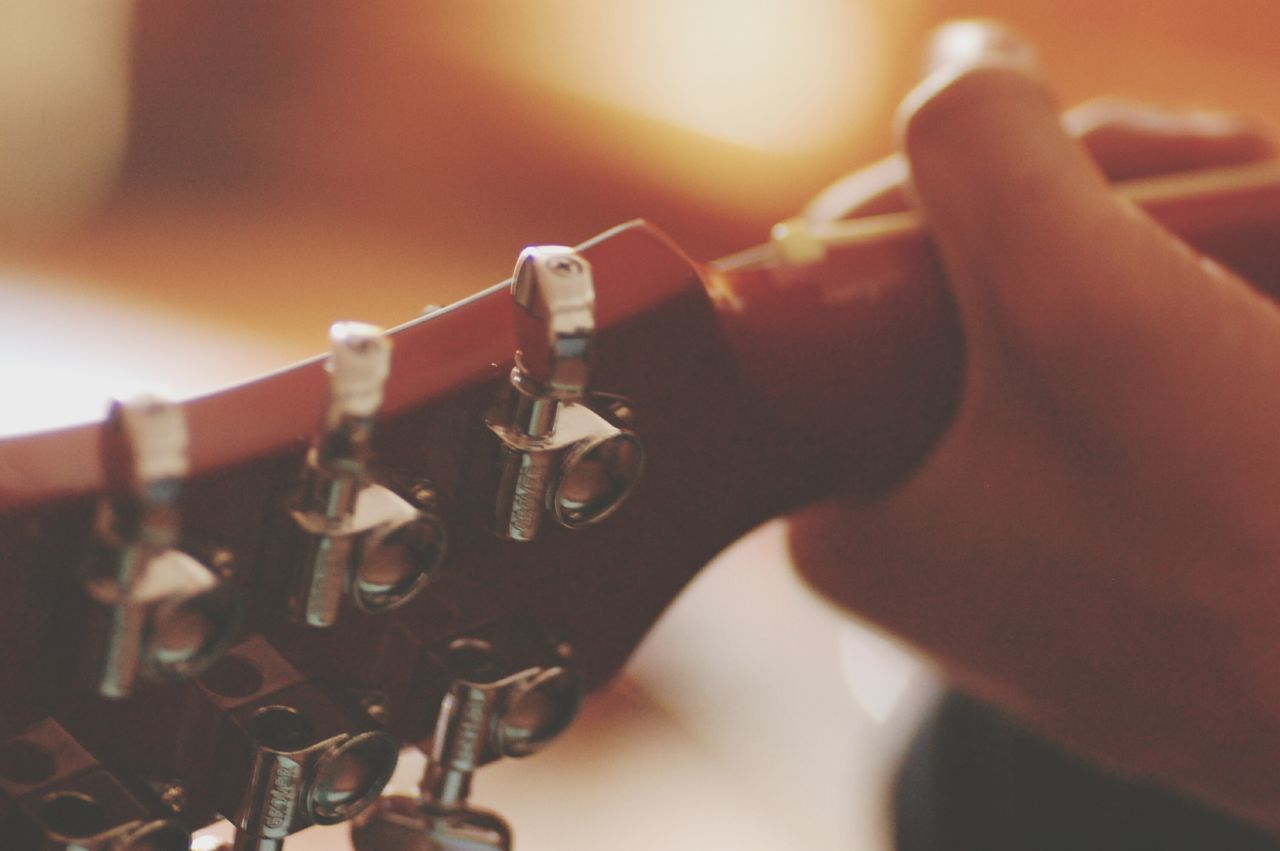 Beautiful stock photos of players, Arts Culture And Entertainment, Close-Up, Cropped, Guitar