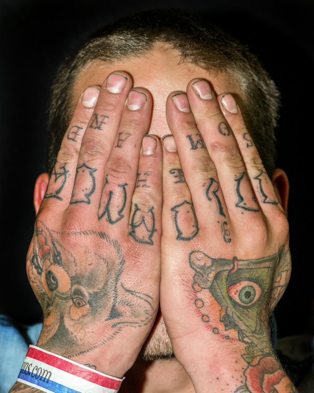 tattoo, human hand, black background, human body part, one person, close-up, studio shot, portrait, palm, indoors, young adult, adult, adults only, people, day