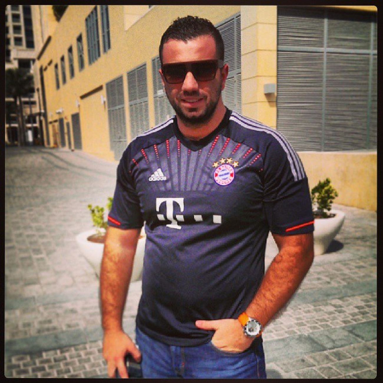 ready for the UEFA Supercup . Let's go FCBAYERNMÜNCHEN Dubai