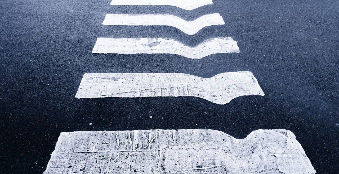 ... a small space-time Distortion ... Zebra Crossing Stripes Pattern Street Stripes Everywhere Blackandwhite Black And White Road Road Crossing Bizzare Weird Lines Horizontal Lines Perspective Augmented Reality Crossing The Street Warp переход пешеходный переход полосы Noir Et Blanc Blancoynegro Across Unreal No People