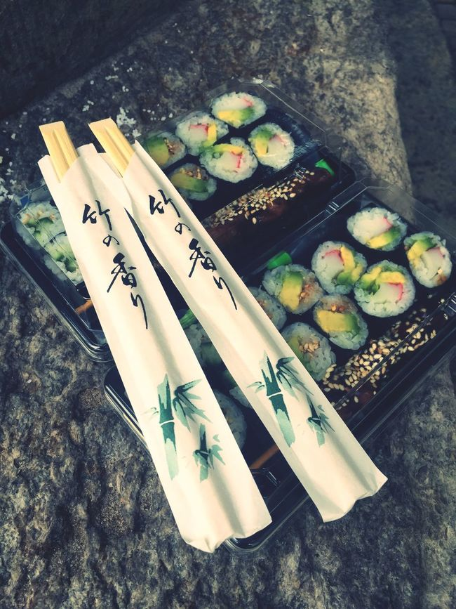 Asian Culture Sushi Love It Asian Food Food Hi! Enjoying Life Makimaki Maki Sushi Time