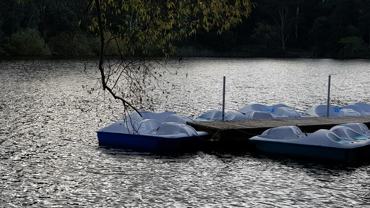 Water Outdoors Day No People Nature Tranquility Lake Paddle Boat Paddleboat