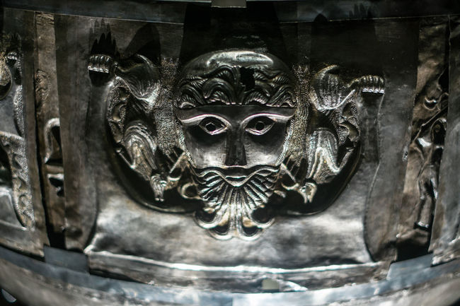 Gundestrup Cauldron, National Museum, Copenhagen Art Art And Craft Cauldron Gundestrup Human Representation Paganism Scandinavian Sculpture