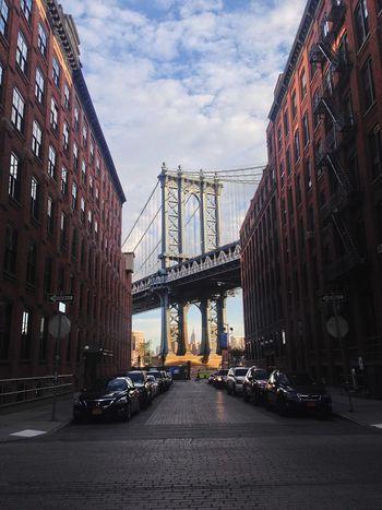The classic Brooklyn shot Manhattan Bridge Brooklyn Empire State Building DUMBO New York New York City City Cityscapes Streetphotography Bridge