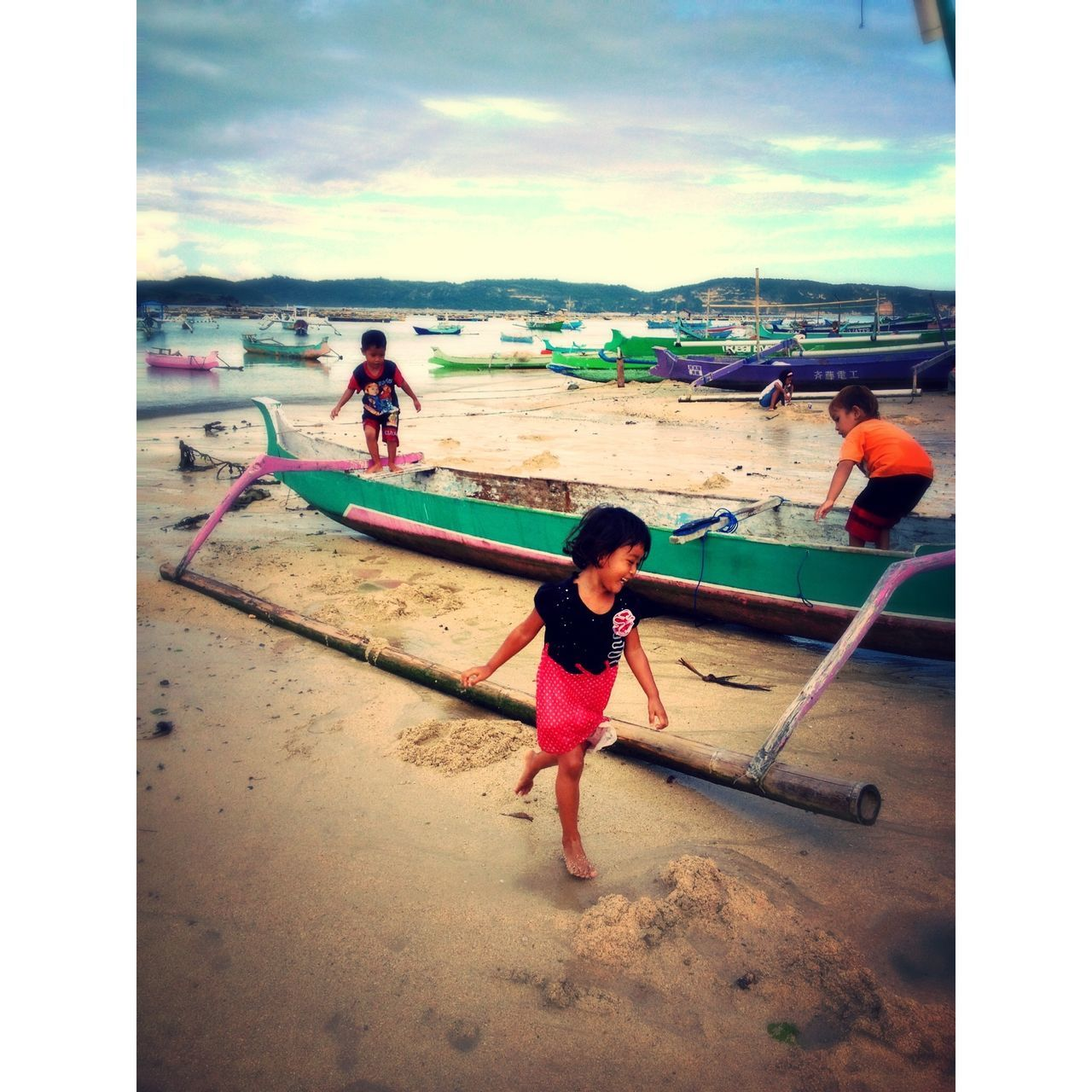 Kids Being Kids INDONESIA EyemIndonesia Lombok Gerupukbeach
