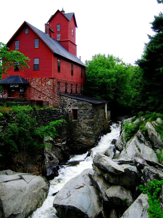 Old Mill  in Jericho , Vermont Vermont_scenery Vermont_landmark Vermontisbeautiful