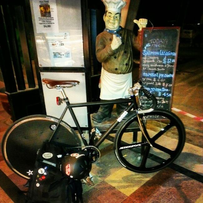 Right On! Ok n'done with! Gym Gymswag Fixie Fixed chefsspecial
