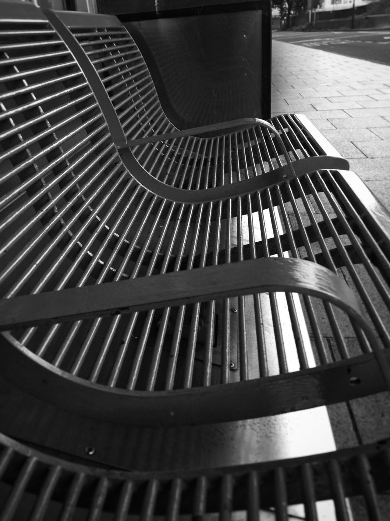 Metal Seat High Angle View No People Pattern Indoors  Day Close-up Musical Instrument