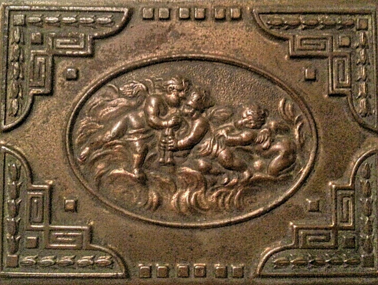 bas relief, backgrounds, close-up, full frame, no people, gold colored, outdoors, day