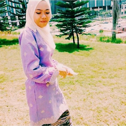 She the one and the last one. Thank you Allah